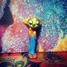Рэтчет из пластилина из игры Ratchet and Clank #рэтчет #рэтчетикланк #ratchet #ratchetandclank #ps4 #playstation4  #своимируками #handmade #hobby #пластилин