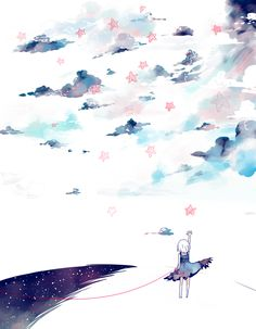 amazing-anime-pictures:  Reaching Loneliness by YuNI-su