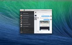 Flamingo is a beautiful, native instant messaging client for OS X that supports Hangouts/Gtalk, Facebook, and XMPP.    More information can be found at flamingo.im.