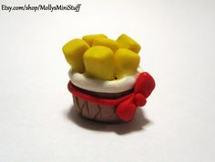 Five Nights at Freddy's: Sister Location inspired handmade Exotic Butters polymer clay miniature figure