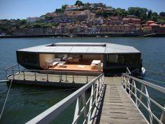 Casa flutuante cidade do O Porto