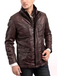 46f66cdf910 Arrow Leather Men Motorcycle Lambskin Leather Jacket - iyi