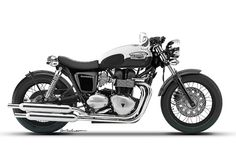 Triumph Bonneville concept by Dan Anderson Design: Digging the big tires