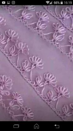 Tatting, Embroidery Designs, Tapestry, Crochet, Lace, Check, Fabrics, Needlepoint, Facial Expressions