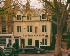 The Eagle and Child Pub in Oxford, where the Inklings (including Tolkien and C.S. Lewis) met