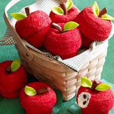 Apple cupcakes @Erin Monaghan