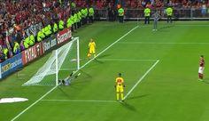 Ao estilo Victor, goleiro sub-20 do Galo brilha em pênaltis e leva título sobre