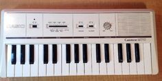 VINTAGE  WHITE CASIO CASIOTONE MT-11 ELECTRONIC KEYBOARD  MADE IN JAPAN | Musical Instruments & Gear, Pianos, Keyboards & Organs, Electronic Keyboards | eBay!