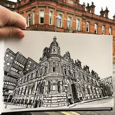 Final sketchcrawl in Manchester. #uskmanchester2016 #urbansketchers #artwork…