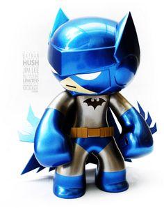 SUPER cool (and super limited, only 4 available) Batman by Rotobox Batman Hero, I Am Batman, Batman Stuff, Comic Books Art, Comic Art, Batman Rises, Vinyl Toys, Manga Characters, Hush Hush