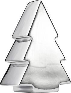 Glanzvoller Dekoweihnachtsbaum in Silber - für festliche Stimmung
