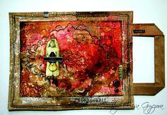 paper bag art journal