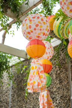 Have a ball at your next party with these decorative lanterns!