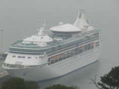 Royal Caribbeans' Vision of the Seas makes a welcome visit to Weymouth & Portland Weymouth Bay, Weymouth Dorset, Best Cruise, Cruise Travel, Royal Caribbean, Seas, So Little Time, To Go, Portland
