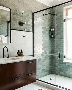 ¿Un toque moderno en el baño?