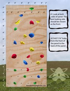 Picture of 24 Kids Climbing Holds Wall Pack Bolt Ons