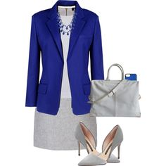 The Jacket @ The Office #corporate by alpate on Polyvore featuring Armani Jeans, Vanessa Bruno, Atto, French Connection, Alexander Wang, Charlotte Russe and Tumi