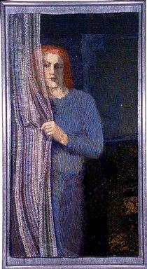 Dusk - At the Window, Audrey Walker, 2004. © Audrey Walker British Textile Artist