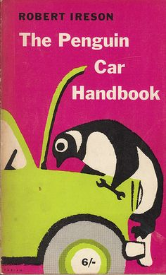 Penguin First Edition Handbook published in 1960.Cover design by Erwin Fabian.