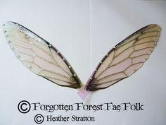 Large acetate fairy wings