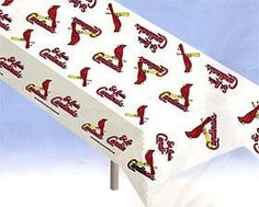 St. Louis Cardinals Plastic Table Cover