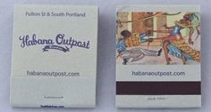 Habana Outpost, NY -20 stem full color printed #matchbook - - To order your Business' own Branded #matchbooks or #matchboxes GoTo: www.GetMatches.com or CALL 800.605.7331 TODAY!