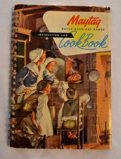 1949 Maytag Dutch Oven Instruction and Cook Book I bought from ApronFreeCooking on etsy