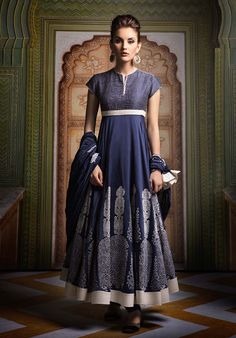 A modern and very Western adaptation of India style. I could wear this myself!- Alyson Jon