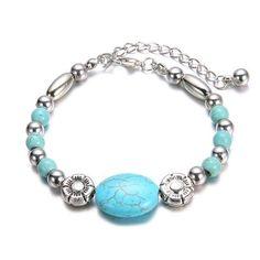 bohemian turquoise bracelet
