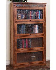 Sedona Lawyers Bookcase by Sunny Designs SU-2952RO-L4
