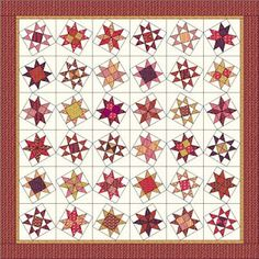 Happy Quilting: Quilt-A-Long's--Stars..what a super tutorial...really detailed..