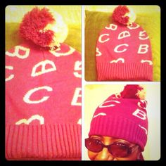 BCBGeneration Scrabble Logo Beanie--2 Available! ⬇️REDUCED AGAIN⬇️ Really Cute and Stylish too!  BCBG Letters adorn the whole hat except for the Ribbed Bottom & 2-Toned Pom-Pom on the top. 100% Acrylic. Colors are Passion (Cerise) and Light Pink. Brand New! No Trades. I actually have 2 of these in case you wanted to  BUY both, one for you and a friend or 2 of your relatives?  BCBGeneration Accessories Hats