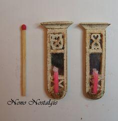 Mini présentoirs avec bougies