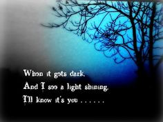 I'll always know its you..
