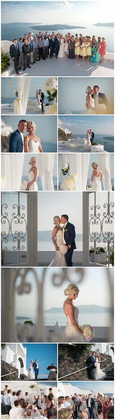 Jennifer and David's Santorini Sun and Sunset dream - Santorini Weddings by Dana Villas, Sunset Ceremony and Private Dinner Reception Venue