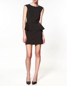 LOW: Zara Peplum Dress $99.90