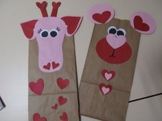 Valentine card holders