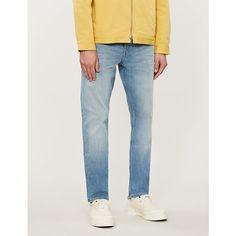 Ck Jeans 026 Slim-fit Stretch-denim Jeans In Gaillard Blue Ck Jeans, Denim Jeans, Skinny Jeans, Ck Calvin Klein, Calvin Klein Jeans, Slim Fit, Stretch Denim, Casual Wear, Fitness