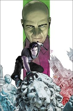 Grayson #10 cover by Mikel Janin