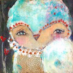 Bliss. By Juliette Crane. Http://juliettecrane.com #juliettecrane #serendipityclass #mixedmedia