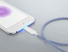 Save your phone's battery with UsBidi, the world's most intelligent charger. This beautifully designed charging cable is available for both Android and iOS devices with a micro USB or Lightning tip option.