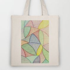 Organic Curves Tote Bag by Rachel Winkelman - $18.00