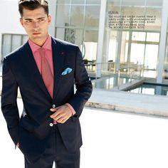 Sean O'Pry for Saks Fifth Avenue Spring 2013
