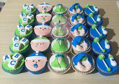 Cupcakes para baby