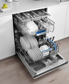 Commercial fully integrated dishwasher are a sensible way to save time on cleaning up the kitchen and that you can obtain a very clean set of dishes with a minimal investment of time and effort to load the dishwasher.