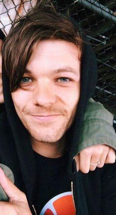 this happened to be my fav pic of louis  he looks so soft and it was the time when nothing was that bad  you know what i mean ?