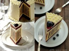 If you have a special occasion coming up or you just want to impress your family and guests with something sweet, we have a beautiful looking blueberry striped cake recipe