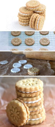 Homemade Golden Oreos - Erren's Kitchen