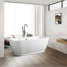 Steam Showers Bathroom, Small Bathroom, Bathroom Ideas, Bathroom Tubs, Bath Tubs, Bathtub Ideas, Master Bathrooms, White Bathroom, Bathroom Inspiration