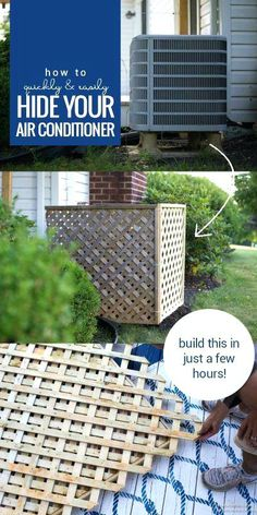 air conditioner screen diy hide your ac unit outdoor air conditioner screen with lattice